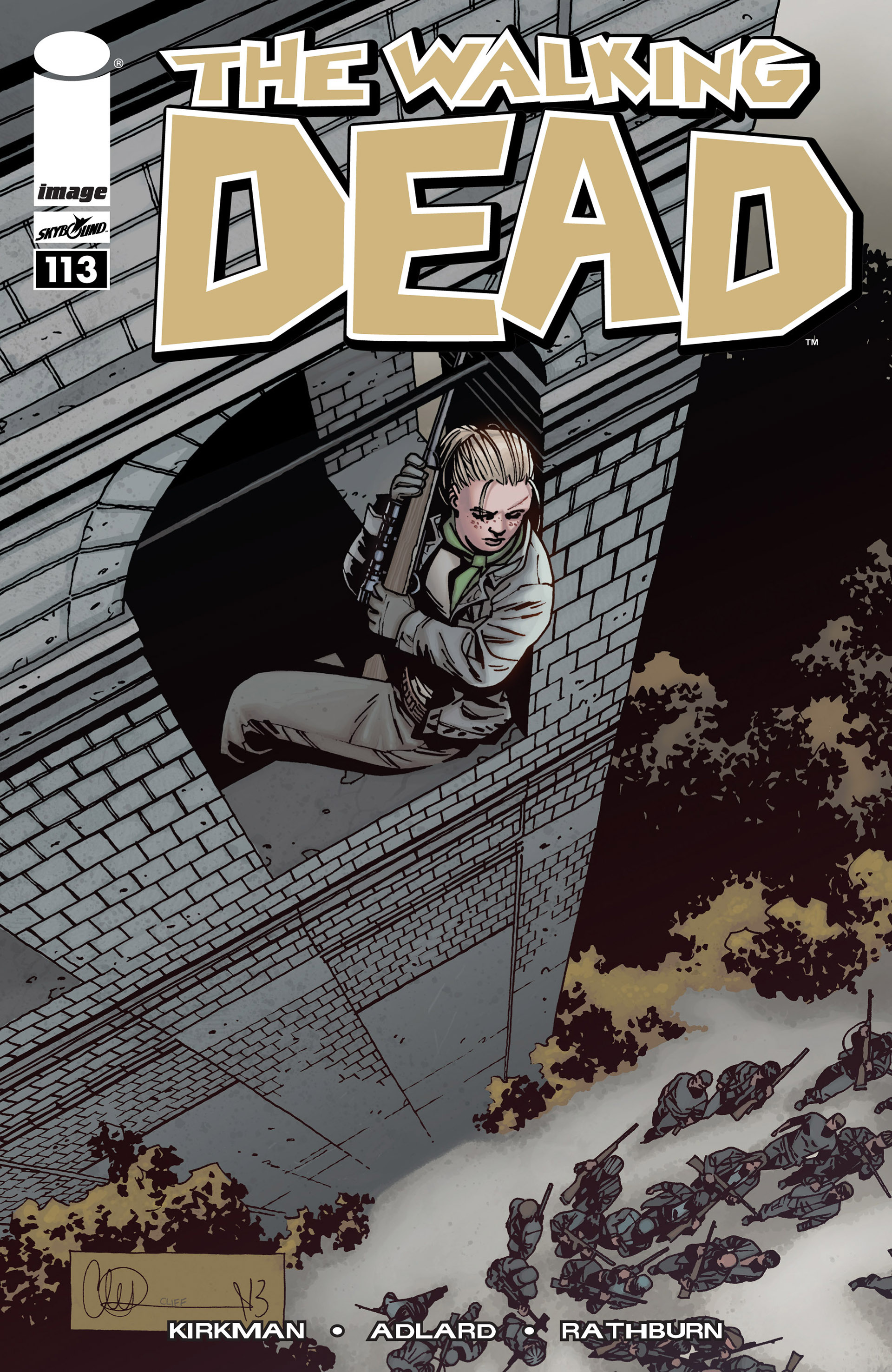 The Walking Dead Issue #113 Page 1