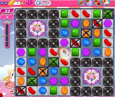 Candy Crush Saga 881