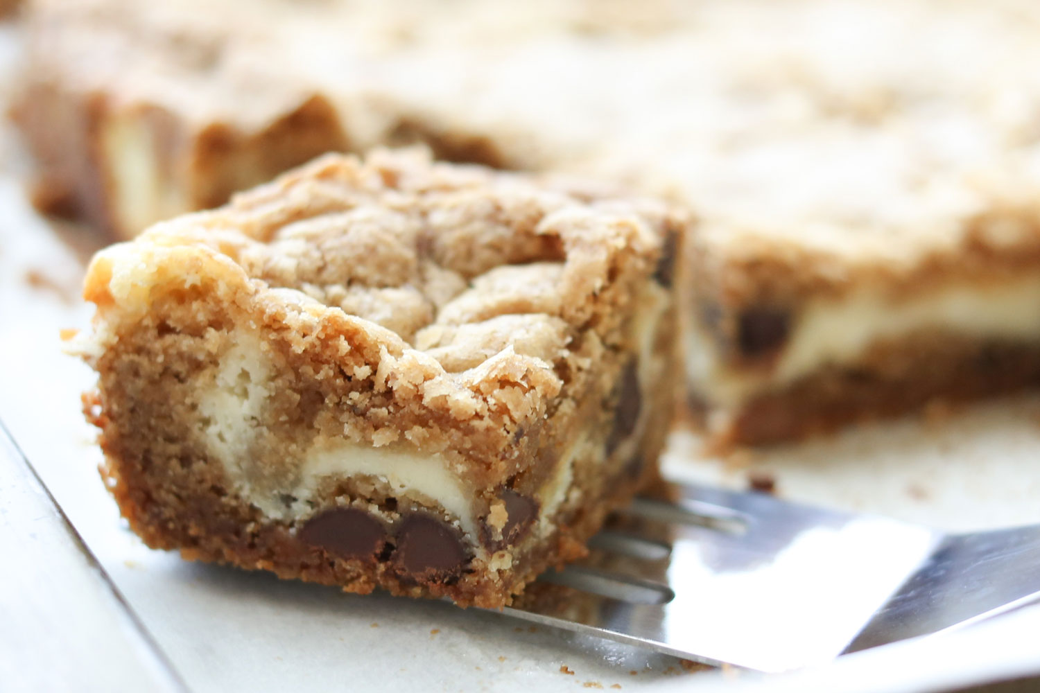 Barefeet In The Kitchen: The Best Cheesecake Cookie Bars {traditional ...