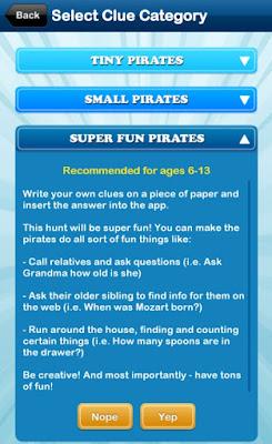 home treasure hunt app kid level