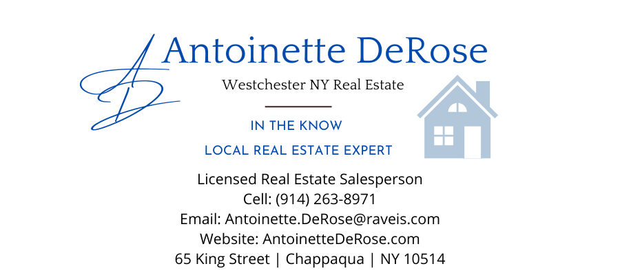 Antoinette DeRose Westchester NY Realtor®  Westchester County NY Real Estate Expert