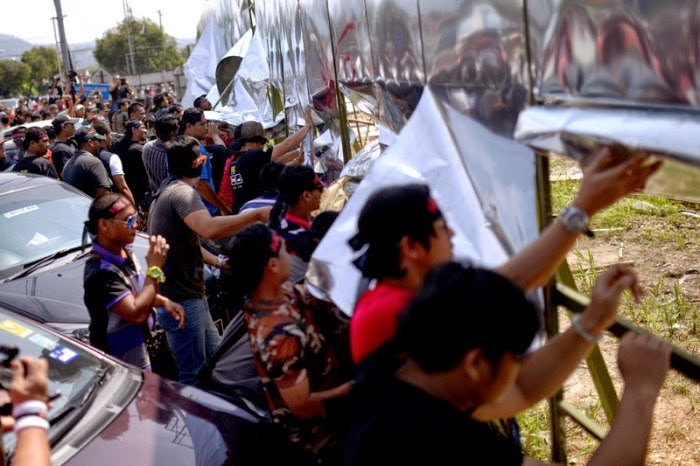 Video Kira Kira 100 Penduduk Hadir Protes Datum Jelatek Hari Ini