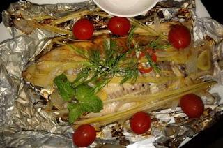Cá điêu hồng nướng giấy bạc không ngán