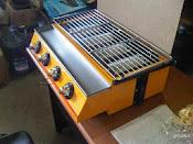 ET-K222 Panggangan gas tanpa asap