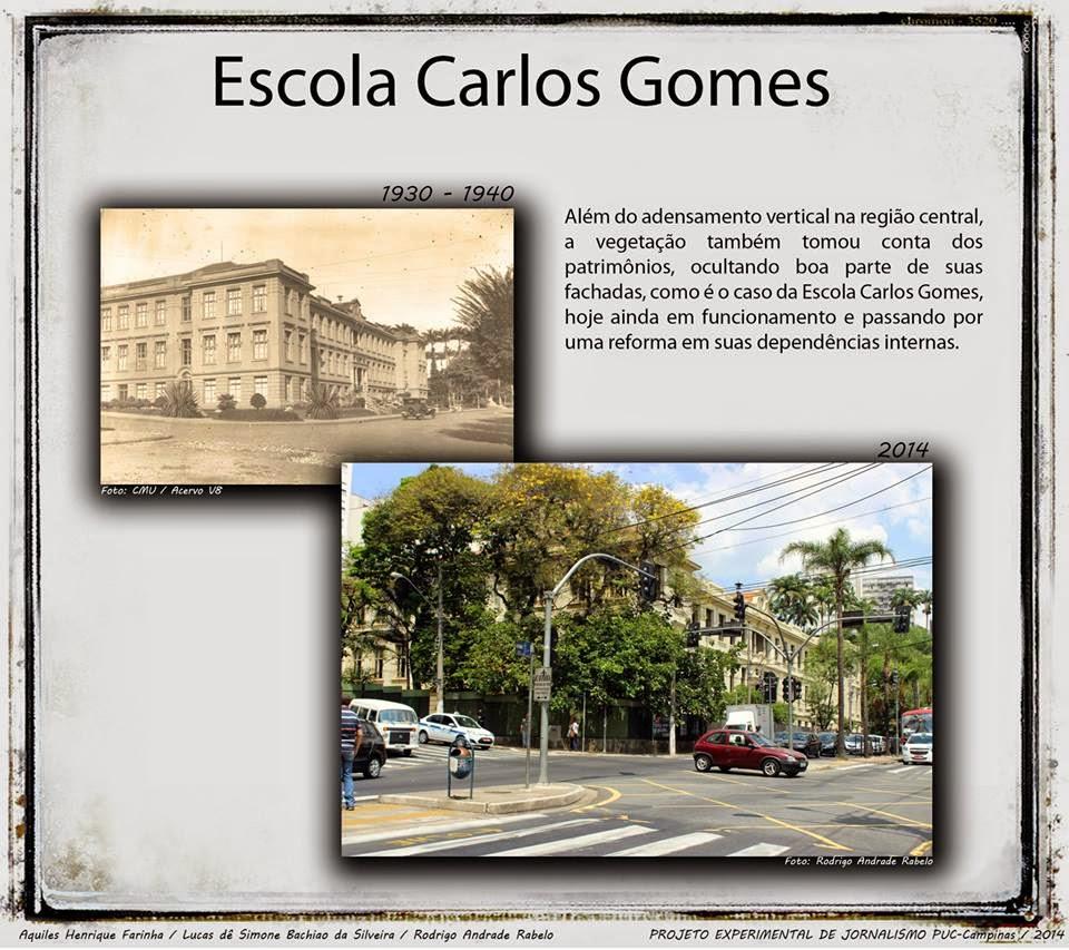 Escola Carlos Gomes - Campinas