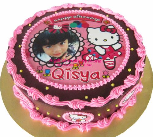 Birthday Cake Edible Image Hello Kitty