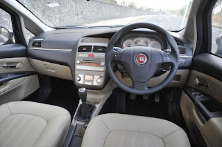 New Fiat Linea interior
