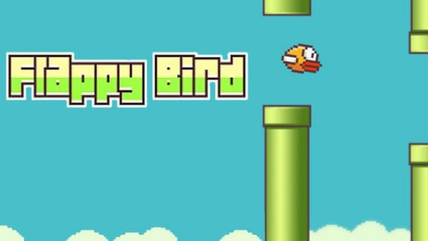 Flappy Bird game created and developed by Dong Nguyen