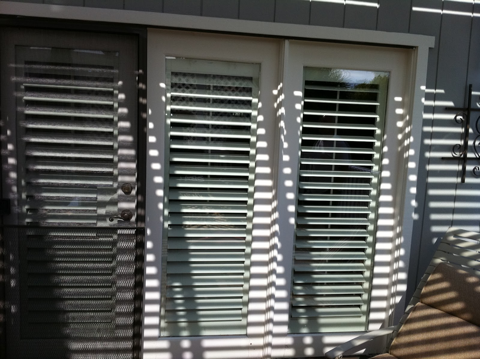 Marvin clad inswing door before and after photos ot glass for Marvin ultimate swinging screen door