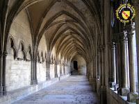 Toul - Cathédrale Saint-Etienne : Galerie ouest du cloître