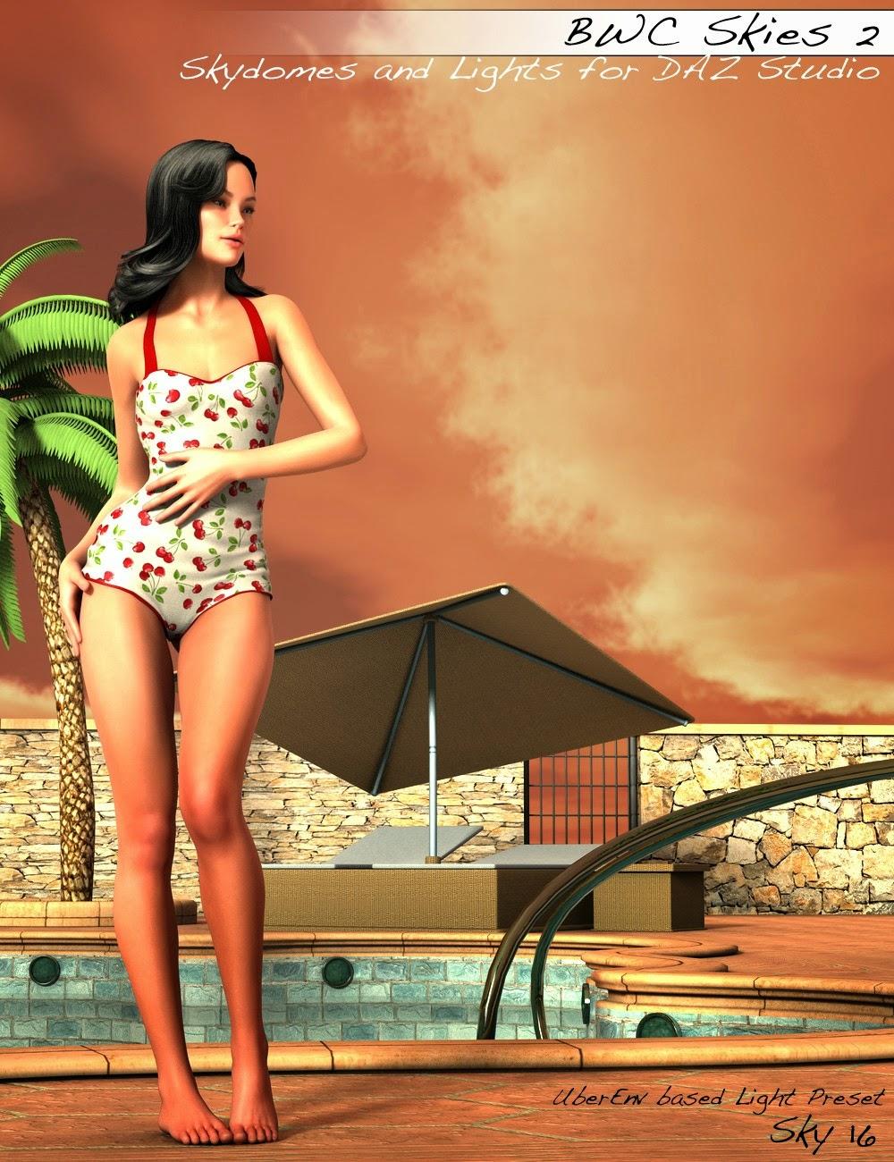 3d Models - BWC Skies 2