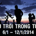Bầu trời trong tuần từ 6/1 đến 12/1/2014
