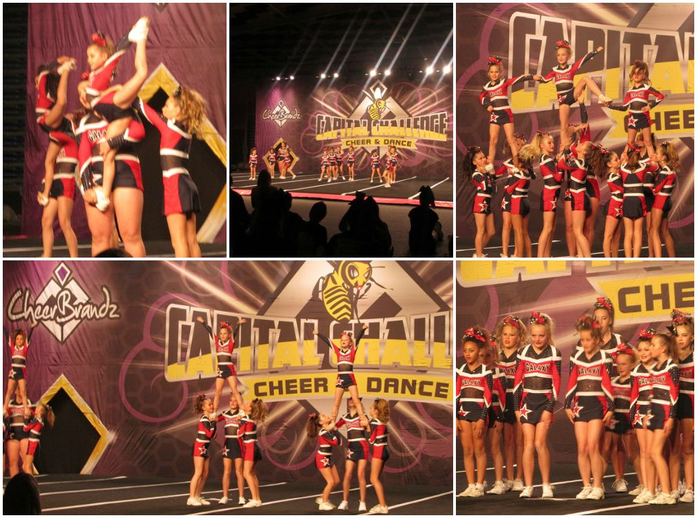 Cheerleading competiton - Galazy Starlites competing