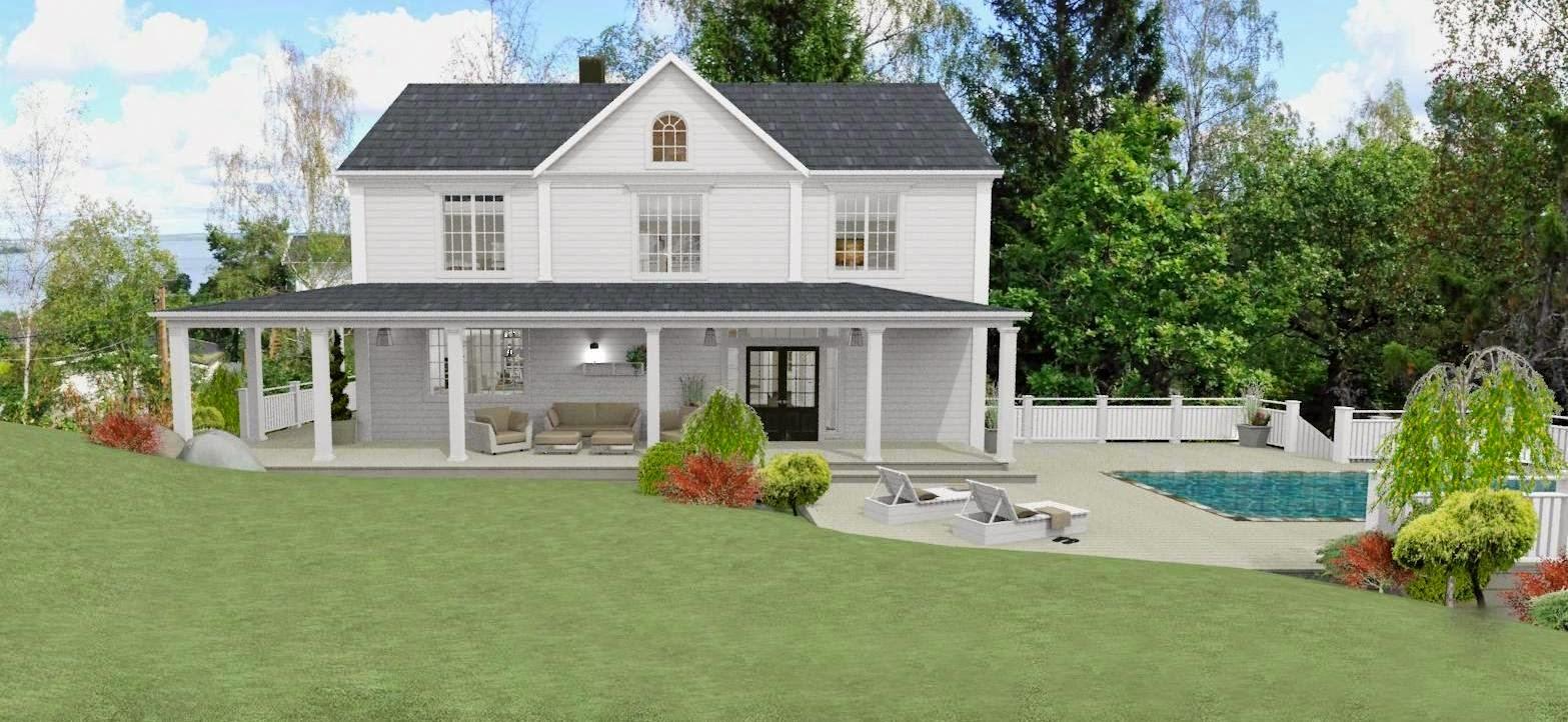 Dreams & coffees arkitekt  och projektblogg: new england hus med ...