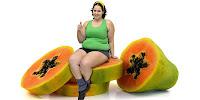pepaya buah diet, menurunkan berat badan dengan pepaya, obat langsing cepat tiens herbal, SMS 085793919595, obat diet alami tiens