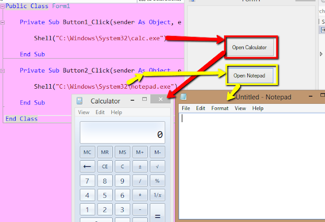 how to write listbox to notepad in visual basic
