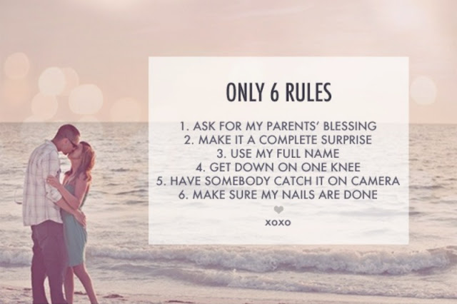 6 Rules For My Future Fiance To Follow