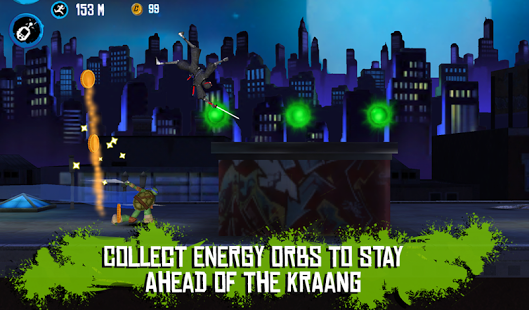 TMNT ROOFTOP RUN Android APK + Data Full Version Pro Free Download