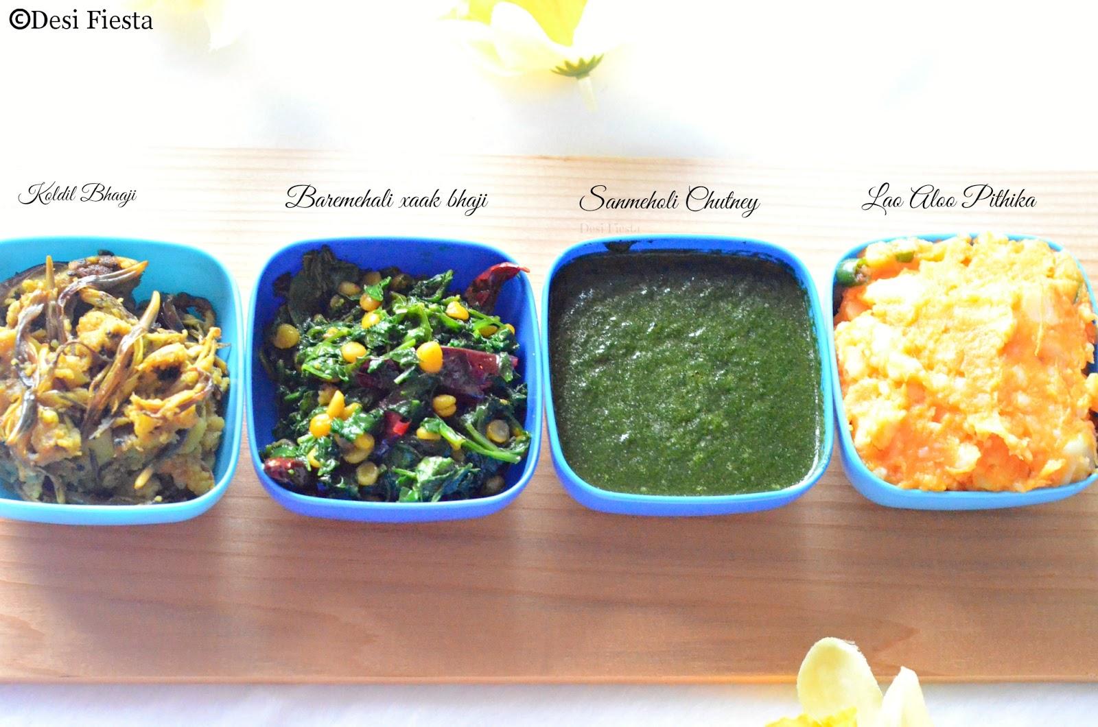 Assamese meals