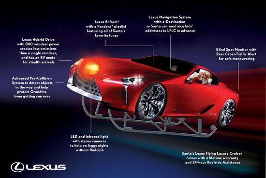 Lexus - Felicitaciones de Navidad