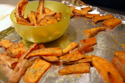 Fit Yummy Mummy Sweet Potato Chips Recipe