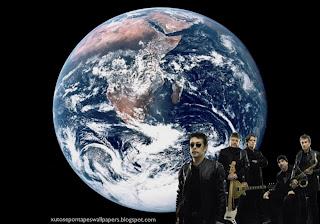 Xutos e Pontapés Wallpaper Foto da Banda Rock tom negro em fundo de tela Planeta Terra