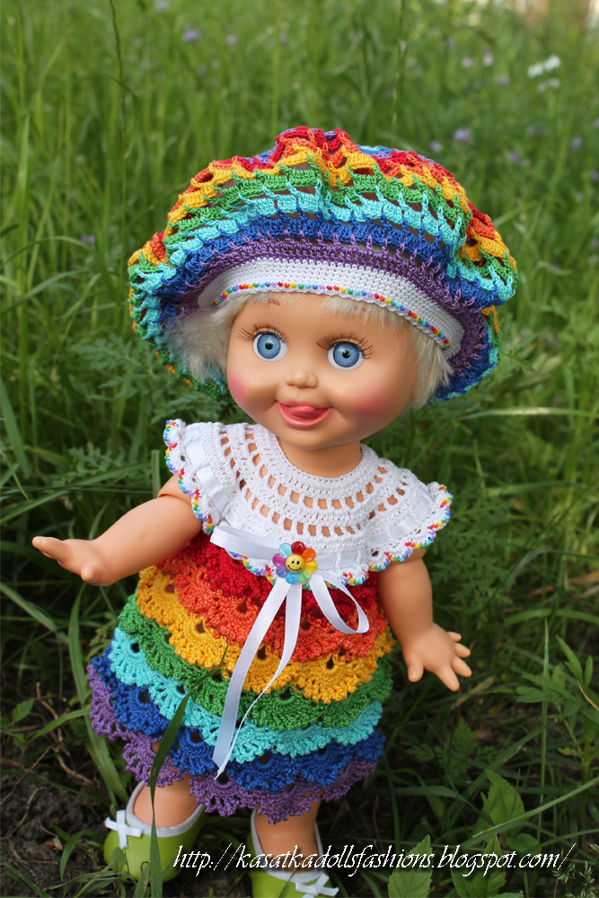 Вязание крючком для кукол.