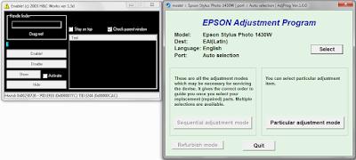 adjustment program next activator