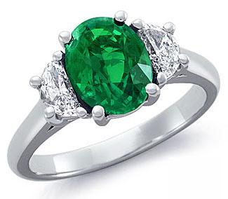 EmeraldRings whitegoldrings gold rings engagementrings goldrings stonerings stonejewellery252872529 - Emerald Rings