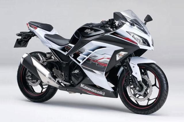 Gambar Motor Kawasaki Ninja N250 FI 2014 Stripping Baru