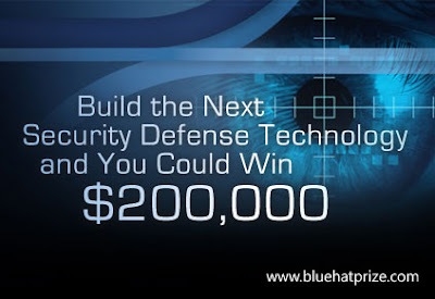 Microsoft Blue Hat Prize US $200000