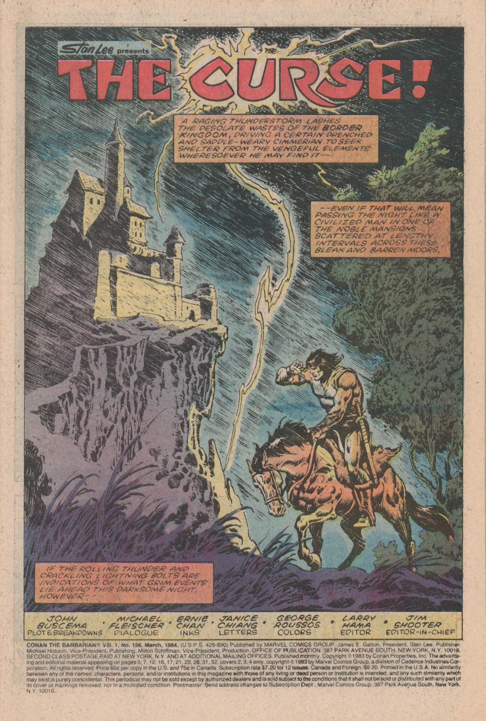 Conan the Barbarian (1970) Issue #156 #168 - English 2