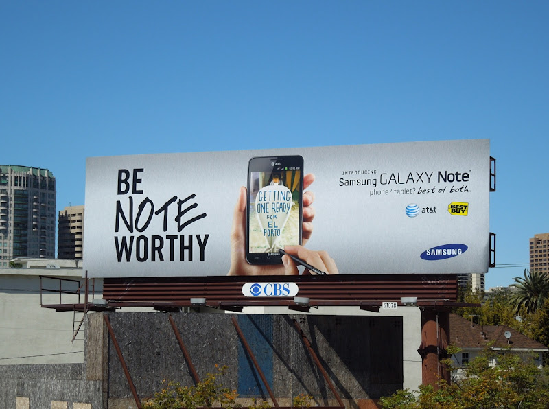 Samsung Galaxy Note billboard