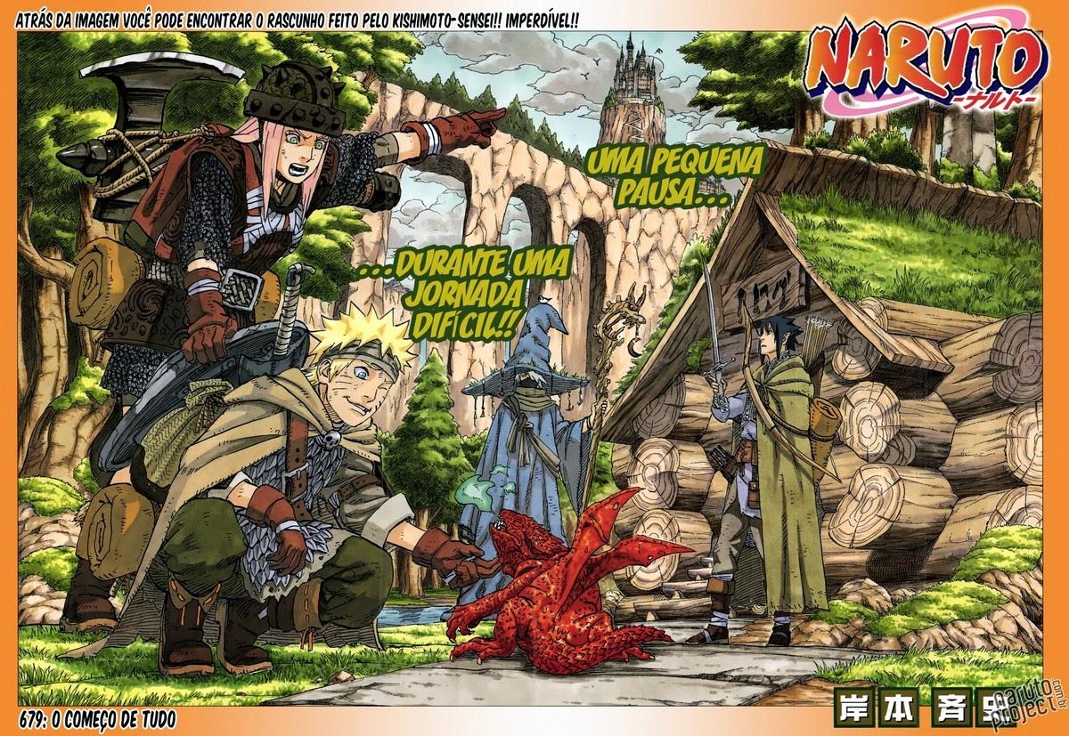 Naruto 679 Português Mangá leitura online