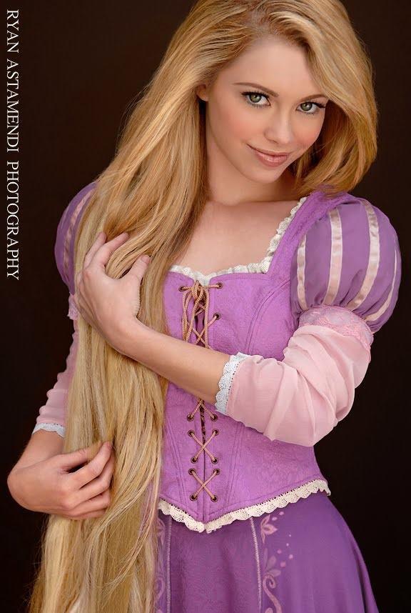 Pupaprinzessin: Rapunzel real.