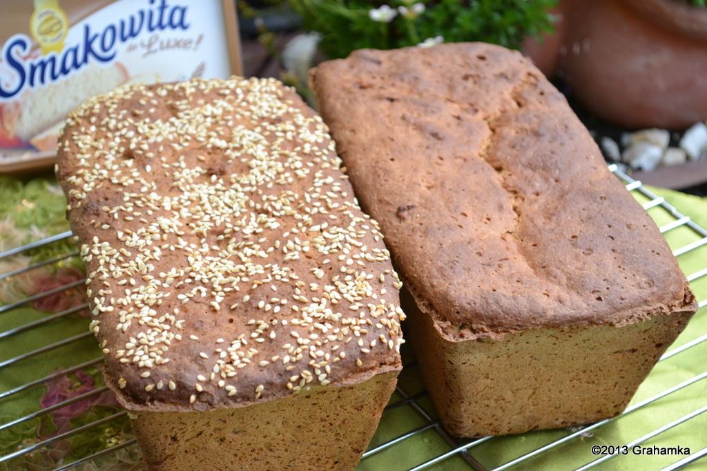 Chleb Cztery Zboża, na starterze Tang-Zhong.