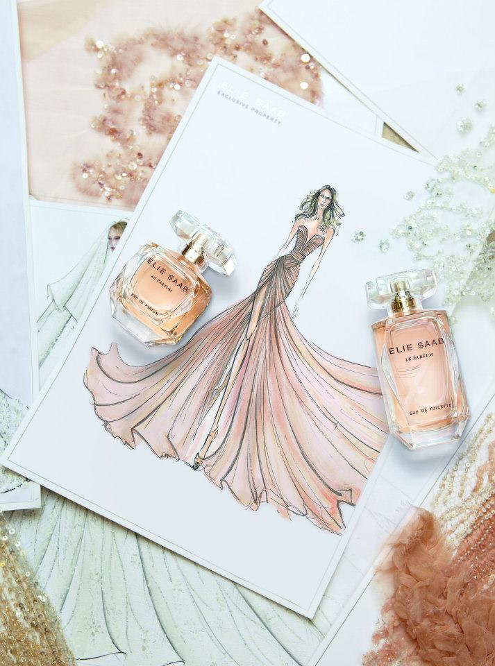 ELIE SAAB DRESSES AND FRAGRANCES