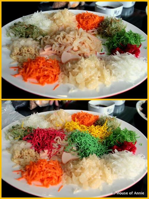 Assembling the Yee Sang