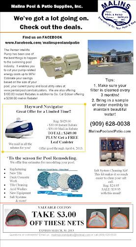 Malins Pool U0026 Patio Supplies, Inc.