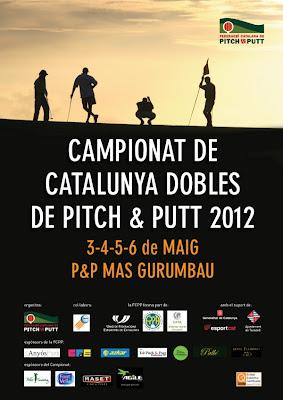 cartell Campionat Catalunya Dobles Pitch & Putt 2012