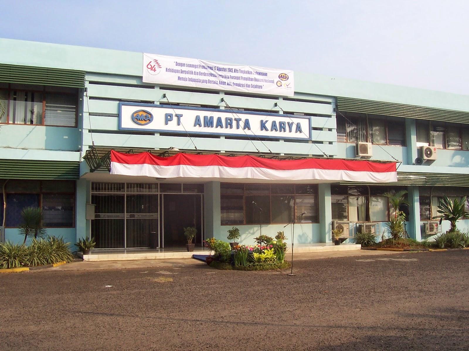 Lowongan PT Amarta Karya (Persero)