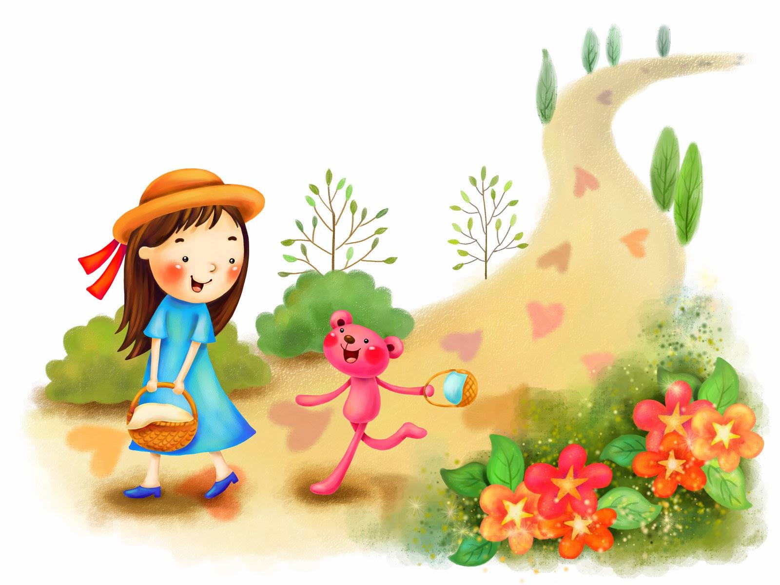 gambar kartun korea cute
