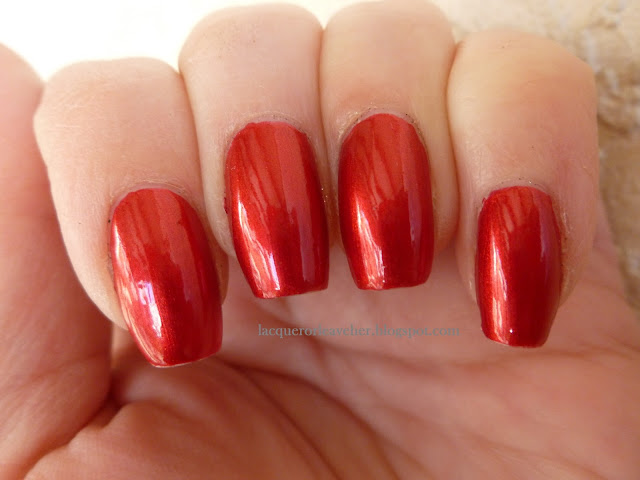 lacquer or leave her before amp after china glaze