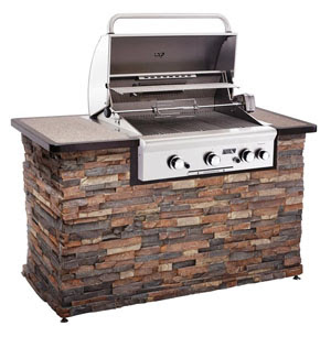 outdoor kitchens gas grills