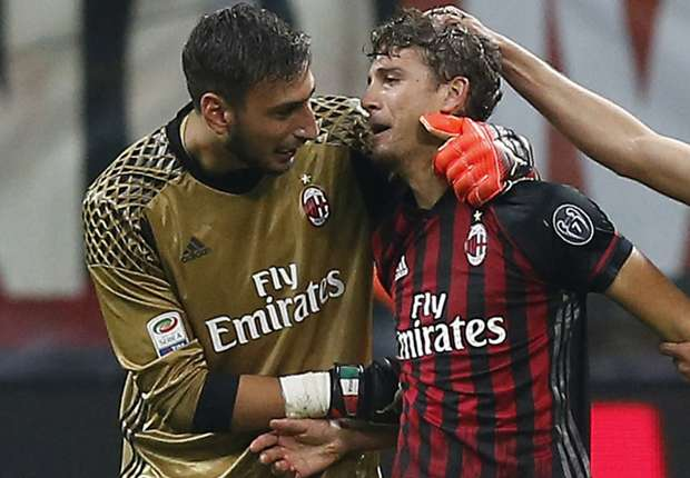 Image result for Donnarumma cry