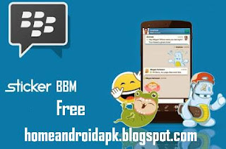 Blackberry officially launched its flagship chat application Blackberry Messenger  Download Stickers BBM Official Free