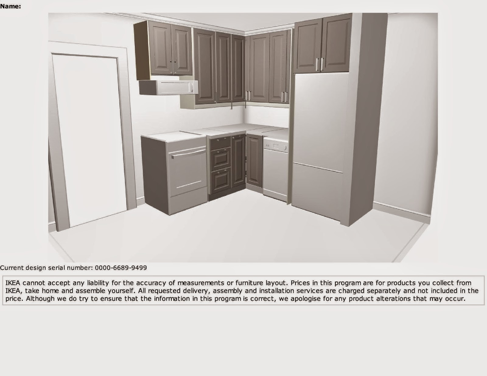 Kitchen Reno Design OnLine Planning Service