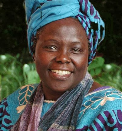 Wangari Maathai the Nobel Peace Prize Winner spent her life planting and protecting trees.