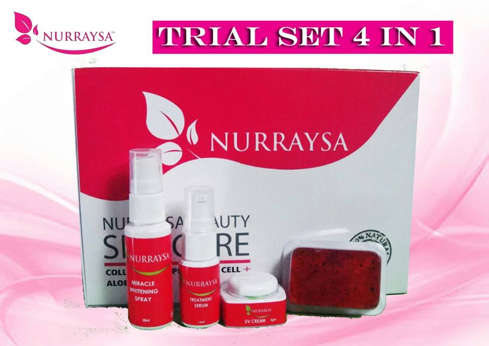 NURRAYSA BEAUTY SKINCARE SET MURAH