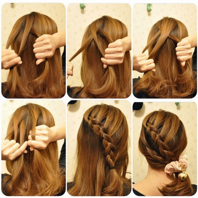 Peinados Peinados con trenzas faciles paso a paso Peinados para  - Ver Peinados De Trenzas Paso A Paso